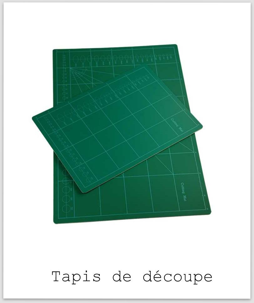 Le scrapbooking de a z tapis de d coupe cutting mat - Tapis de decoupe autocicatrisant ...