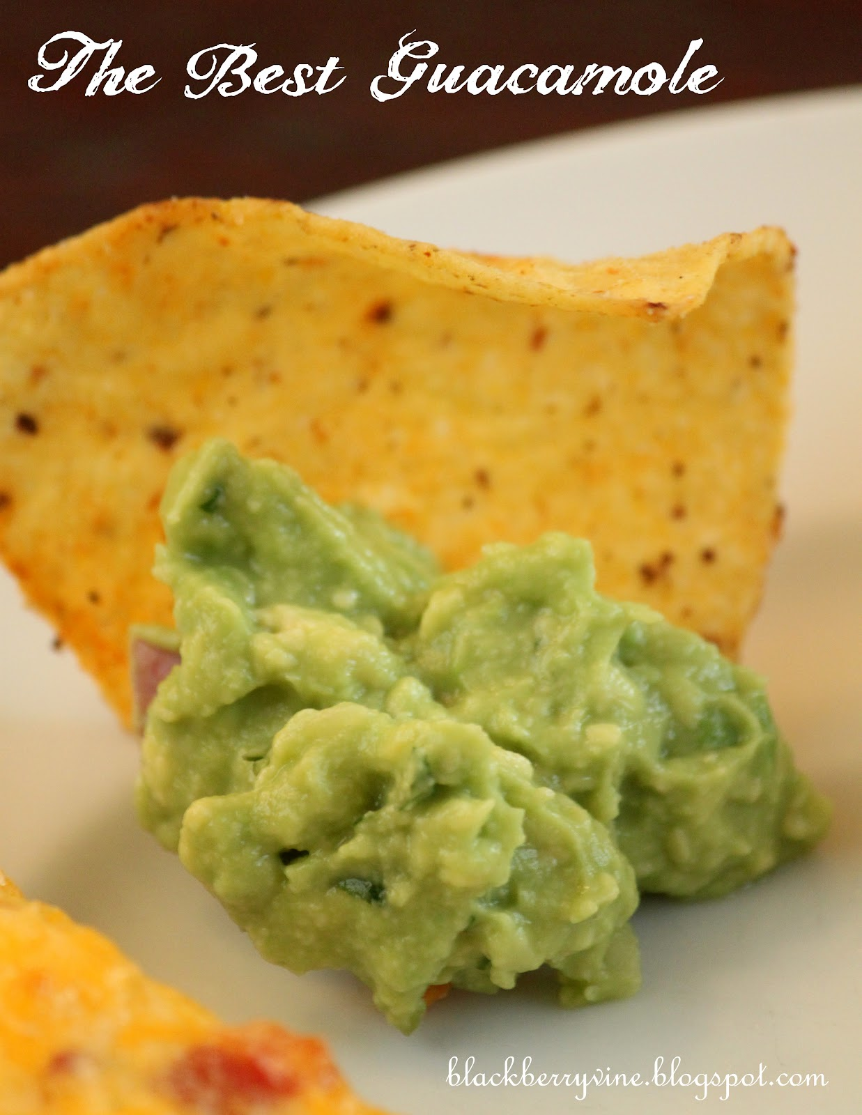 The Best Guacamole, EVER!