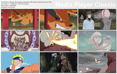 "Download Film / Anime Naruto Episode 328 ""Kurama"" Shippuden Bahasa Indonesia"