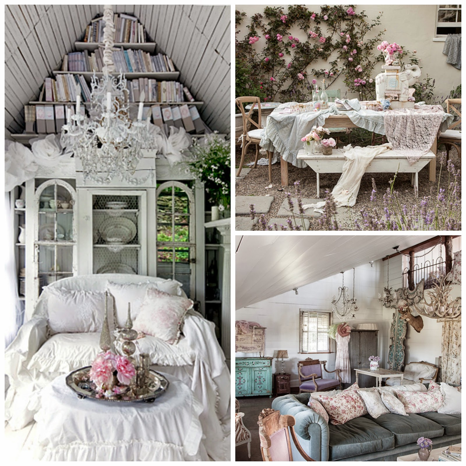 some shabby chic inspiration all things nice. Black Bedroom Furniture Sets. Home Design Ideas