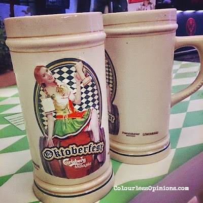 Carlsberg Oktoberfest Stein 1 litre 2014