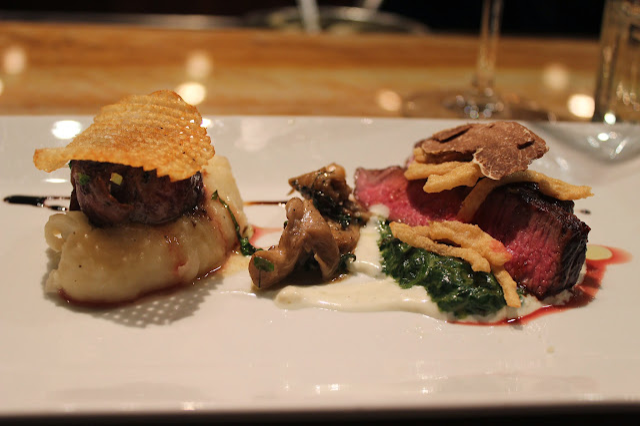 Steak two ways at BOKX 109, Newton, Mass.