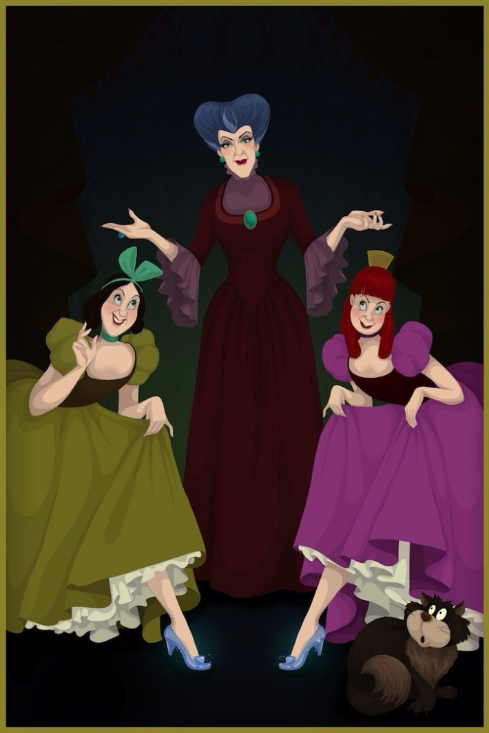 Photos: if Disney Villains had won.