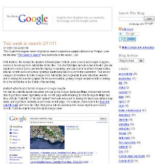 Desain Google Blog