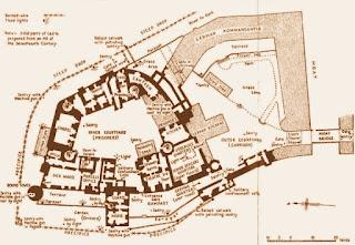 Plano de la prisión de Colditz