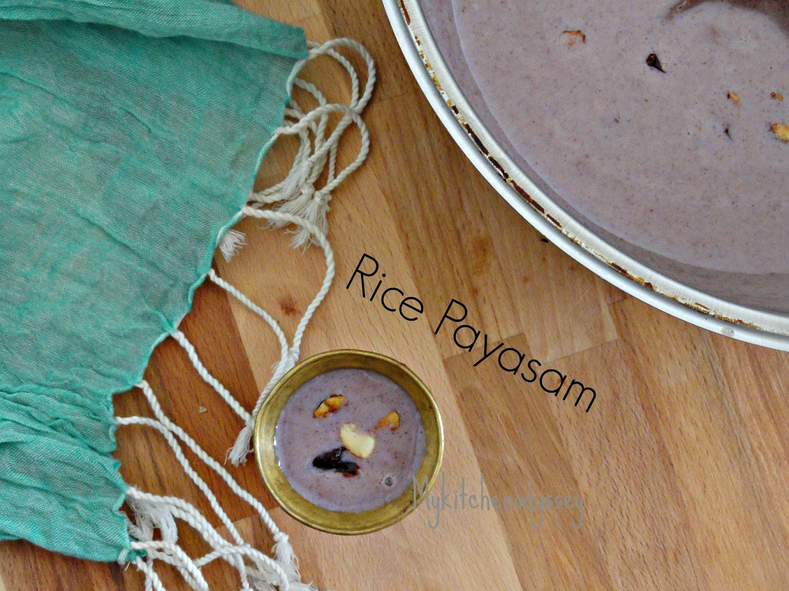 Black Rice Payasam