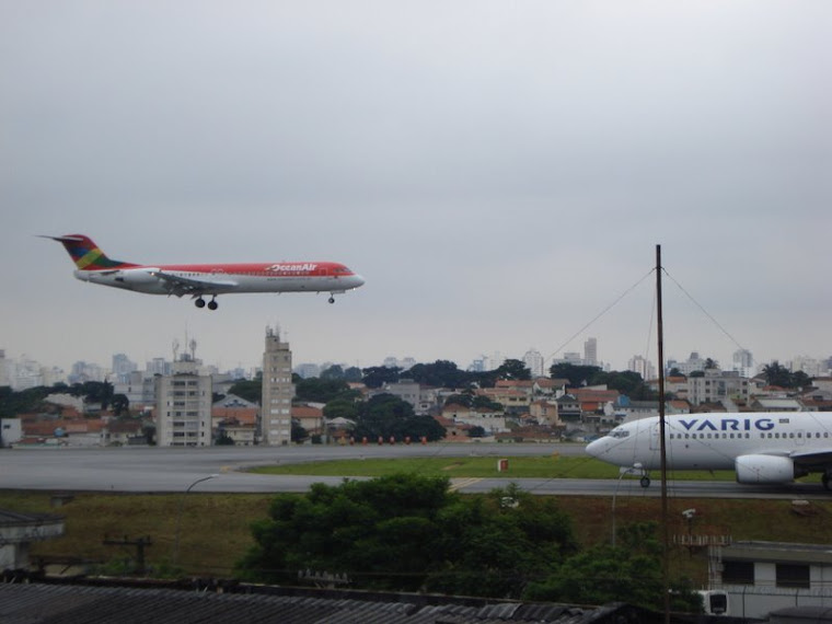 Landing Congonhas