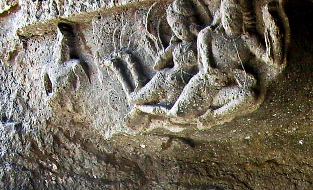 fresco at Aurangabad caves