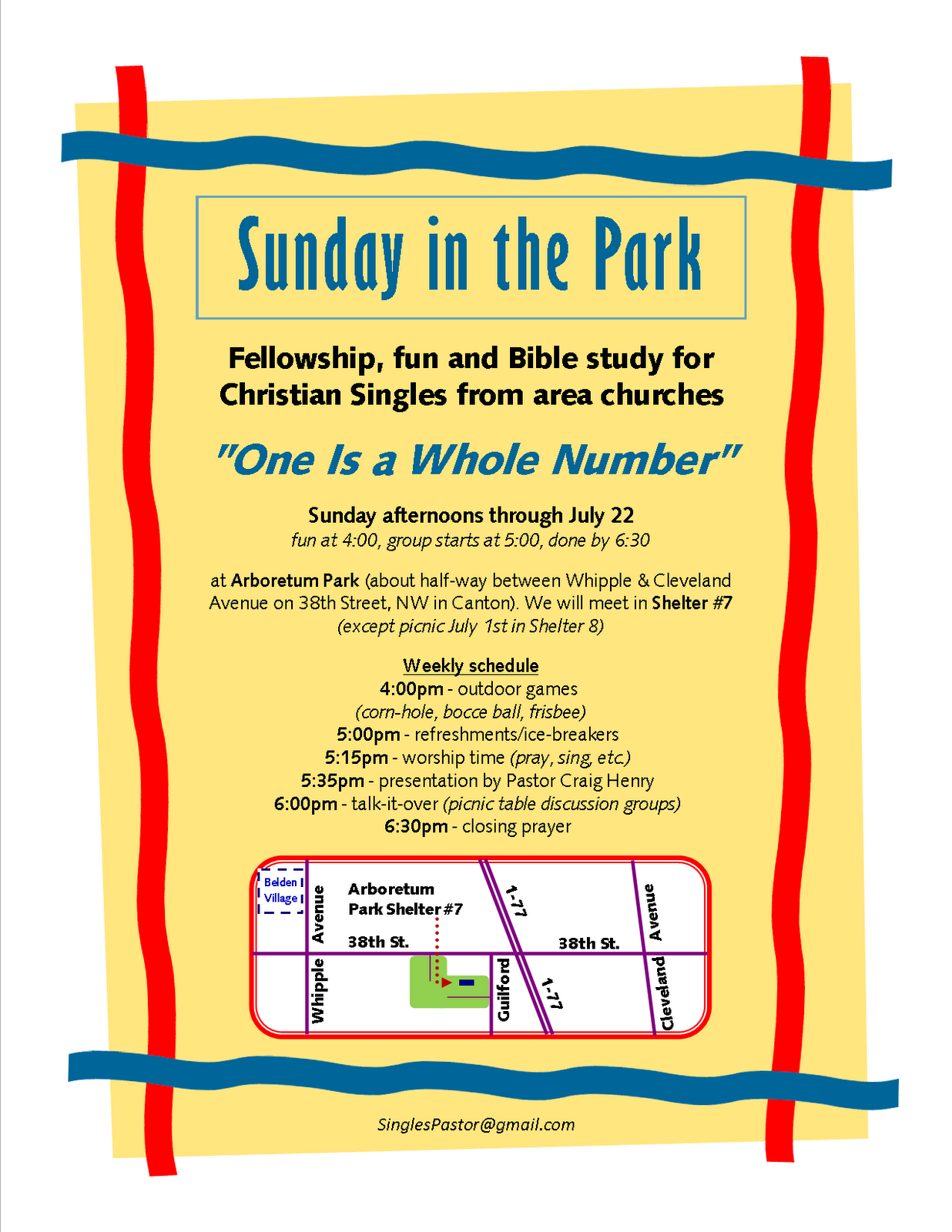 bible school park single personals High school christian school a sunday morning bible study for single singles 2gather is a sunday morning bible study class for 50+ singles to grow in their.