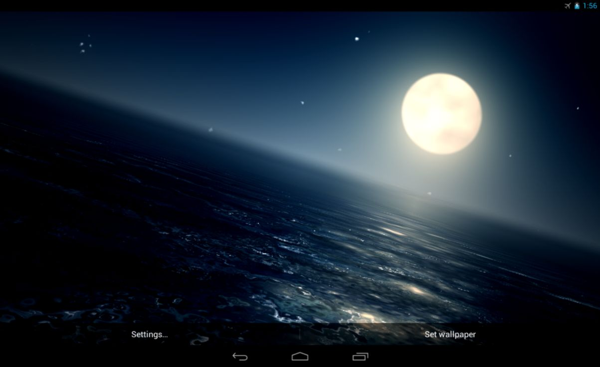Ocean At Night Live Wallpaper   Android Apps on Google Play