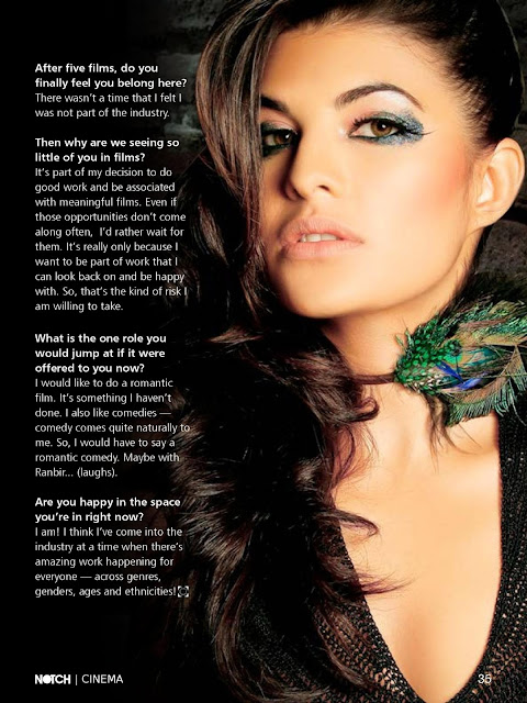 Jacqueline fernandez NOTCH Magazine