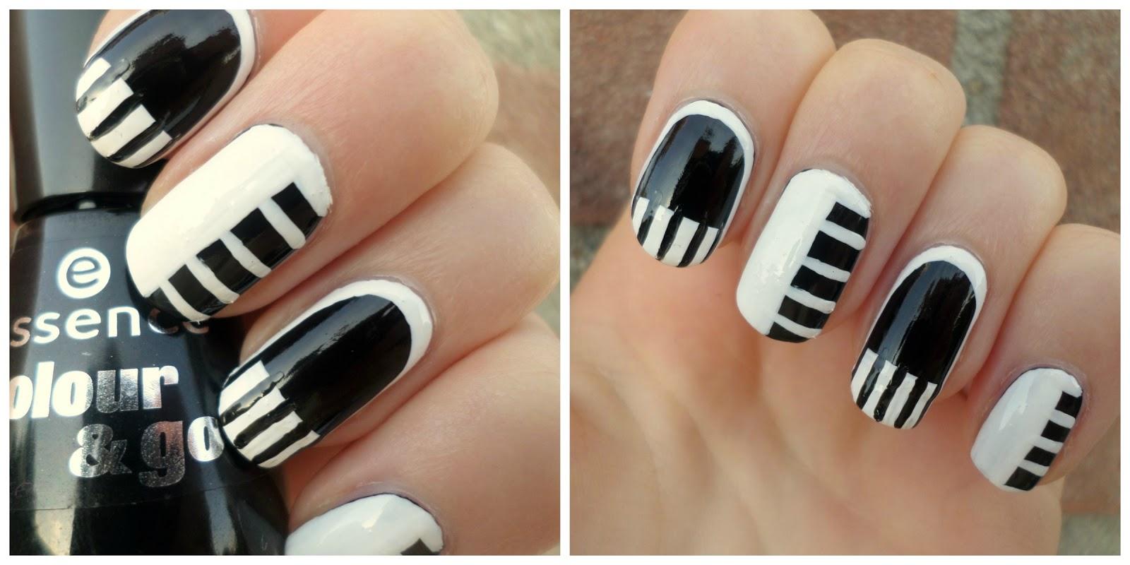 Creativenails4fun Nail Art Piano Manicure