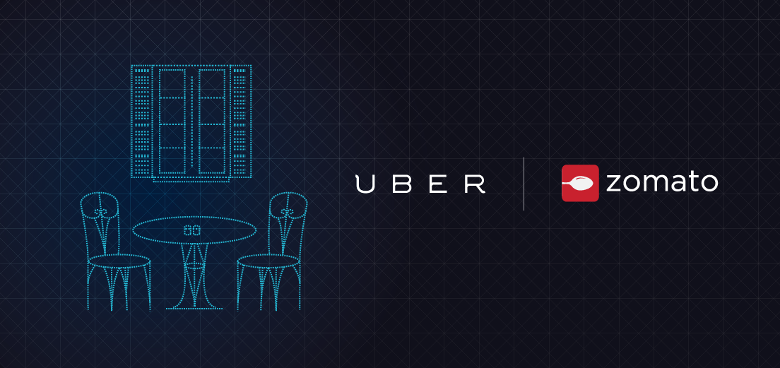 BOOK AN UBER RIGHT THROUGH YOUR ZOMATO APP!