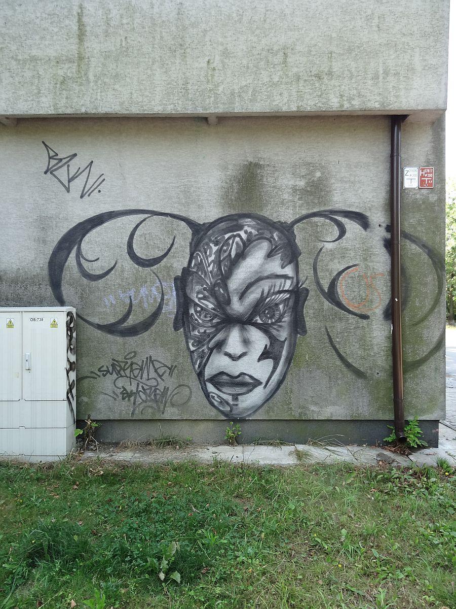 Znikaj cy punkt wsp czesnej sztuki kogucie jajo for Mural ursynow