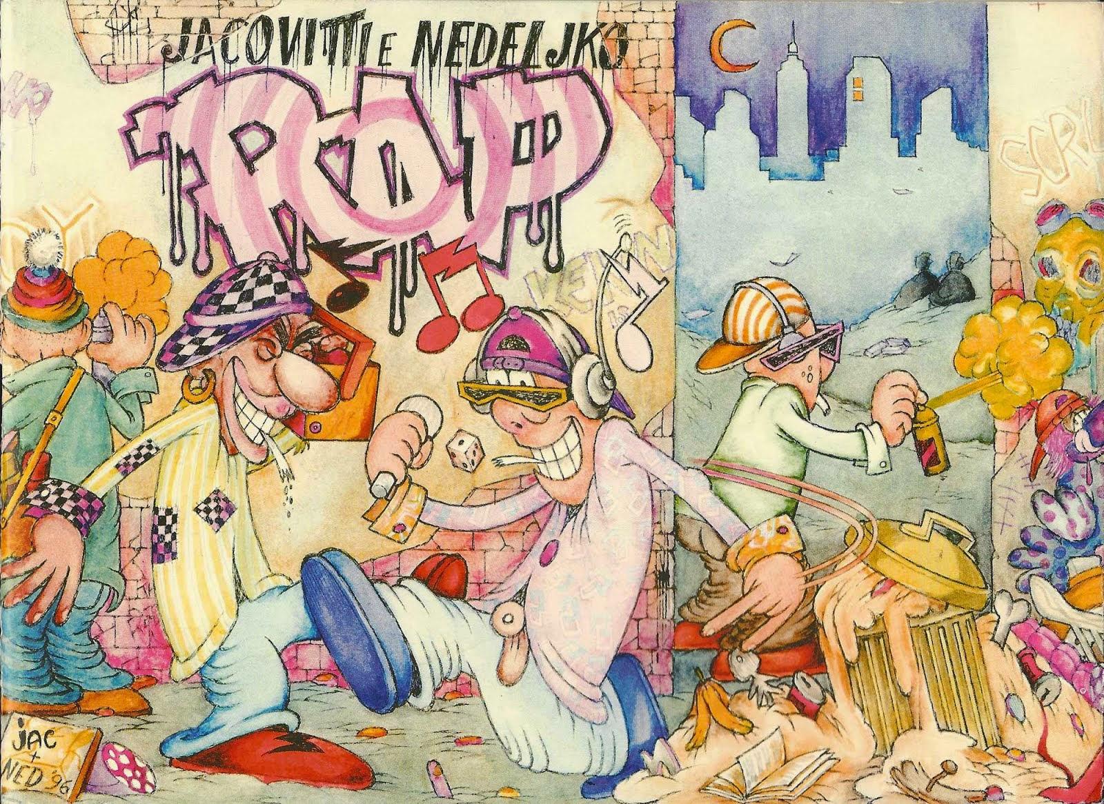 Jac e Ned: RAP! Leggi il numero 0.