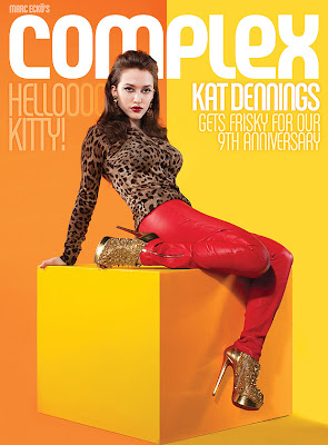 Kat Dennings Complex Magazine Cover