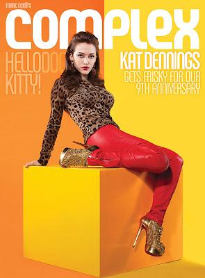 Kat Dennings Complex Magazine Cover