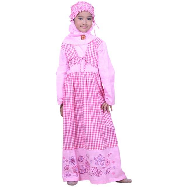 Berikut ini beberapa contoh dan harga baju muslim anak perempuan yang ...