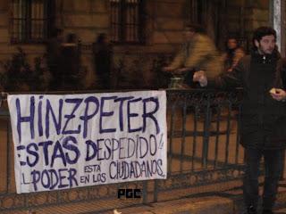 Mary+226 Durante la semana de Navidad se aprobó la Ley Gubernamental que criminaliza las manifestaciones sociales