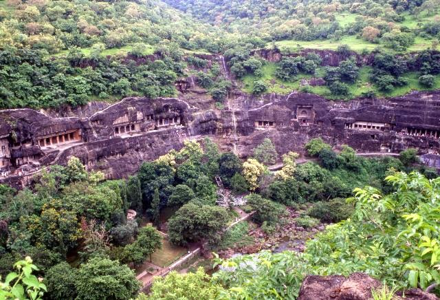 Advanced Ancient Architecture At The Ajanta Caves, India