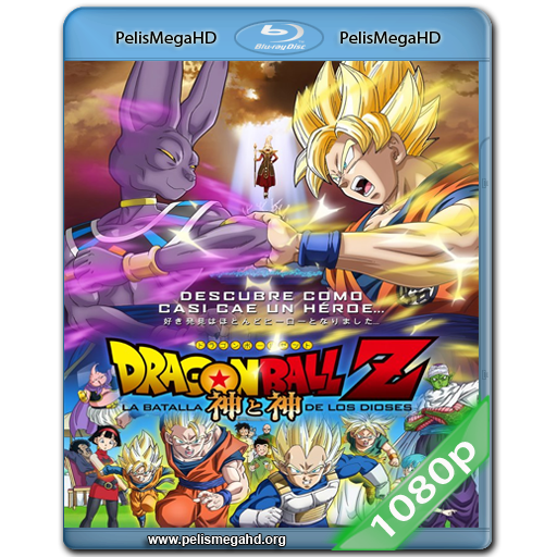 DRAGON BALL Z: LA BATALLA DE LOS DIOSES (2013) FULL 1080P HD MKV ESPAÑOL LATINO