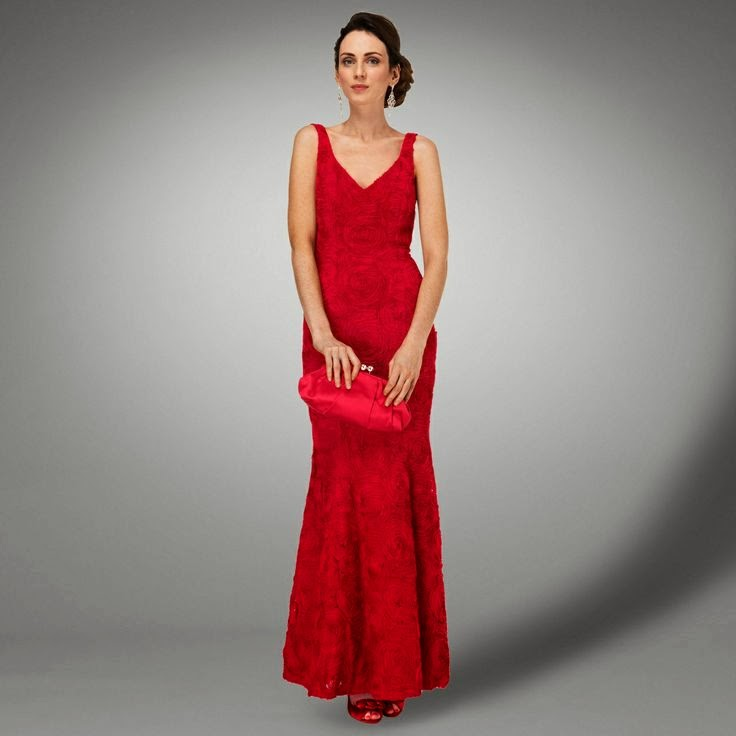 Phase Eight Chelsea Dress: Affordable Wedding Dresses - Red