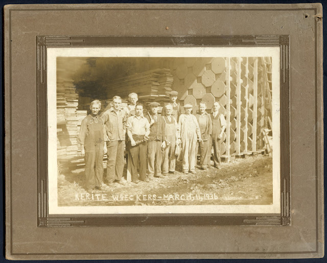 Union Made 1936 Kerite Wreckers Photo