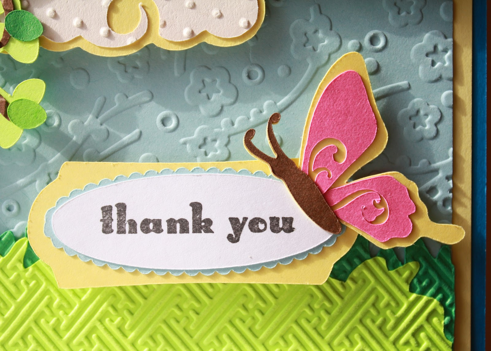 Twinkling Thank You Cards