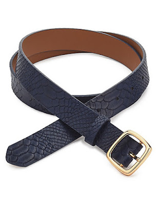 Marks and Spencer Faux Leather Snakeprint Belt