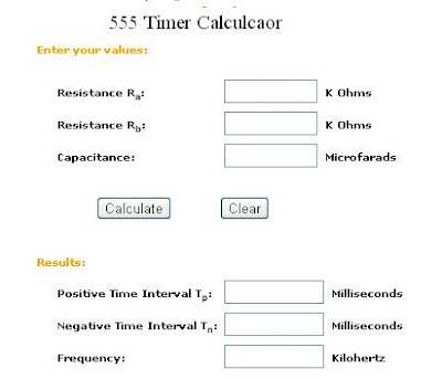 Online Electronics Engineering Calculator and Converter