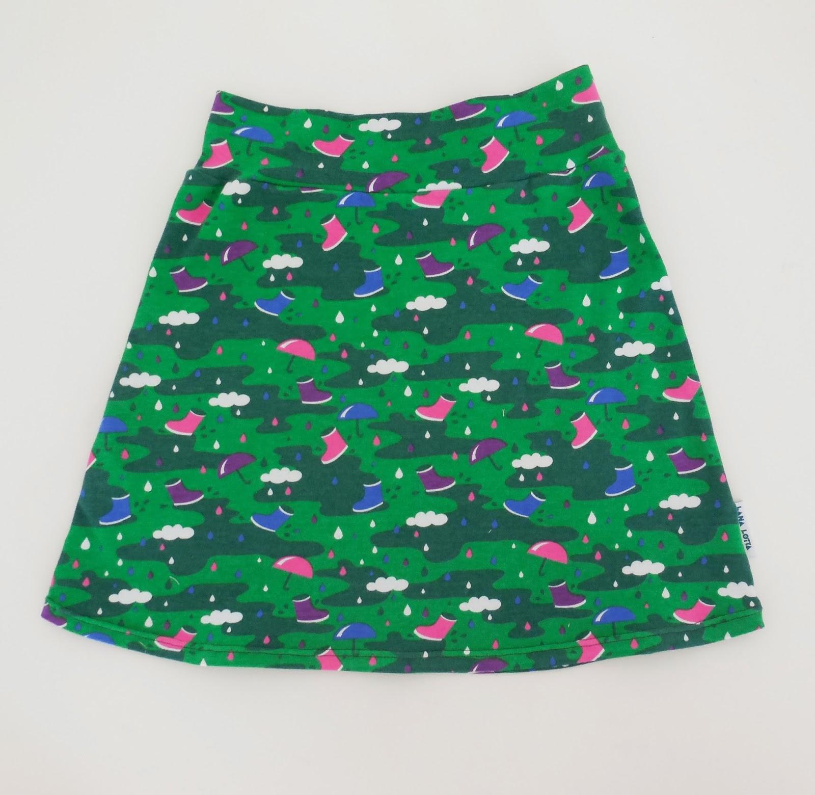 Patroon tricot rok met elastiek