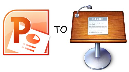 how to open keynote file in powerpoint