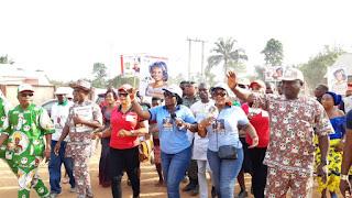 Senator Uche Ekwunife visits Abatete. assures quality, effective representation