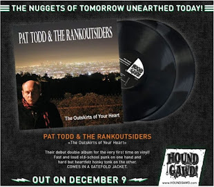 PAT TODD & THE RANKOUTSIDERS - THE OUTSKIRTS OF YOUR HEART LP