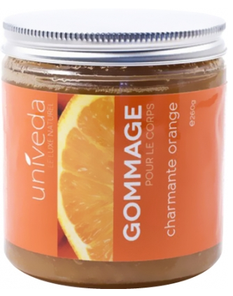 Gommage corps orange univeda
