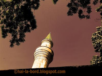 minaret moschee eroii revolutiei bucuresti