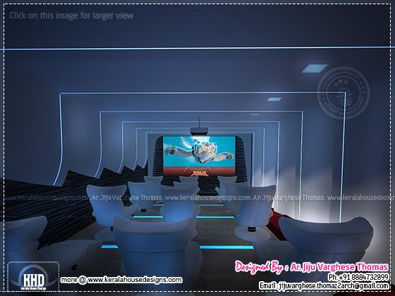 Home theater room design