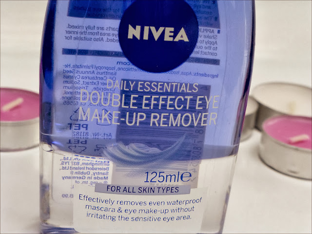 Nivea Daily Essentials Double Effect Eye Make-up Remover
