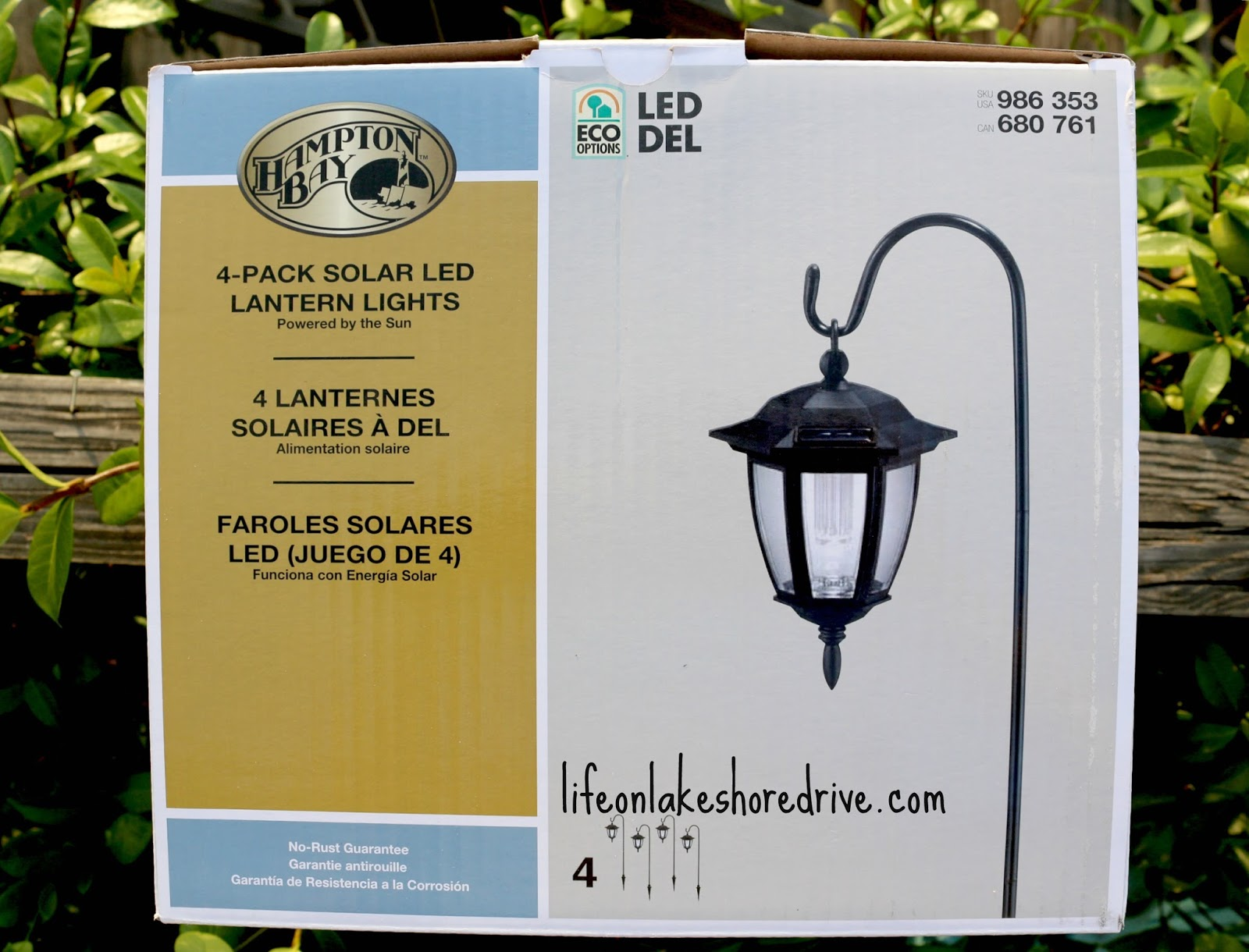 DIY Solar Lights Lamp Post Life on Lakeshore Drive
