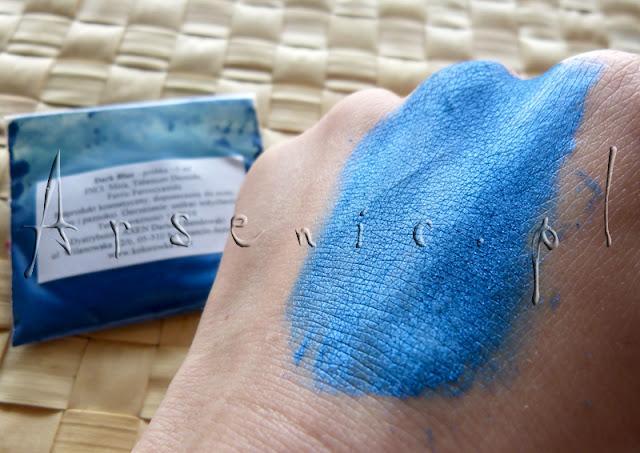 Wariatka, czyli niebieskie pigmenty mineralne do kolekcji