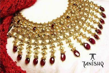 New Tanishq Necklace Designs