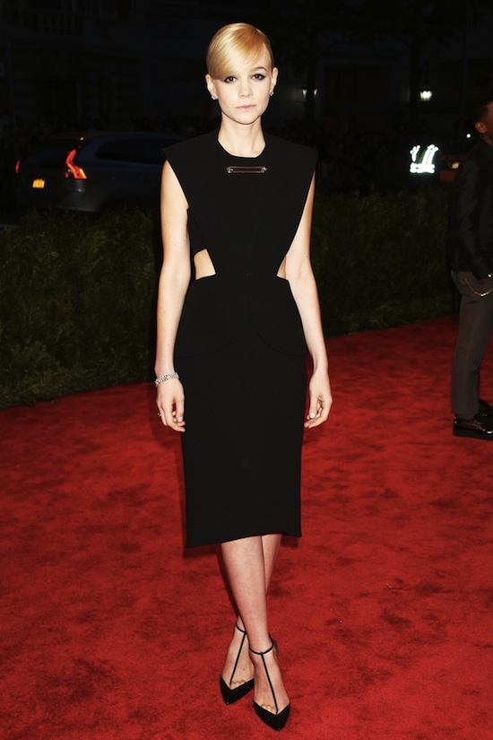 Carey Mulligan Balenciaga Met Ball 2013