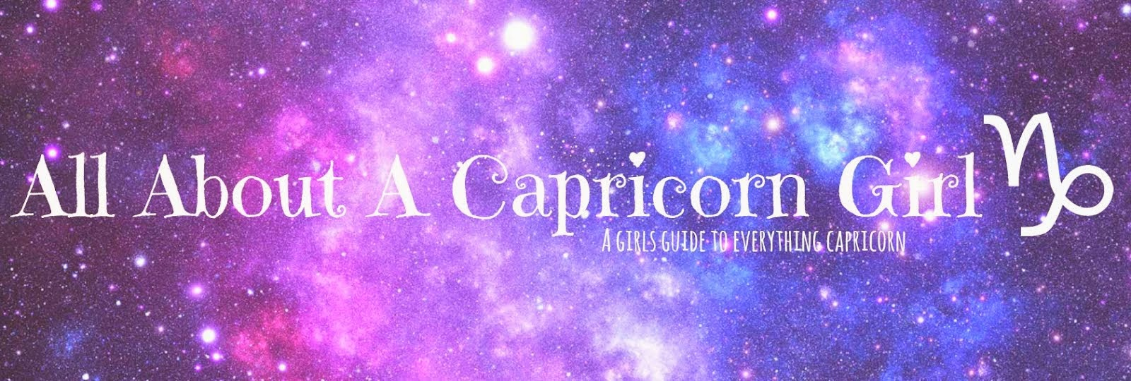 All About A Capricorn Girl