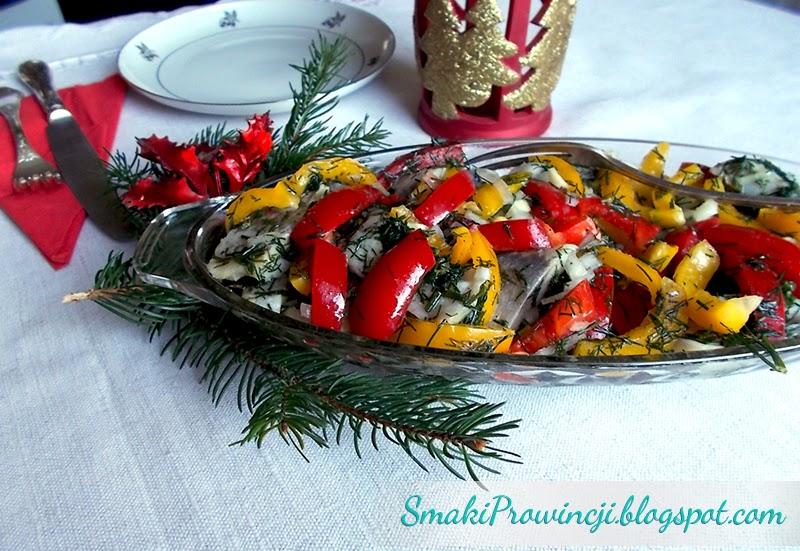sałatka śledziowa - Boże Narodzenie - smaki prowincji