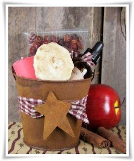 Rusty Tin Bucket Apple