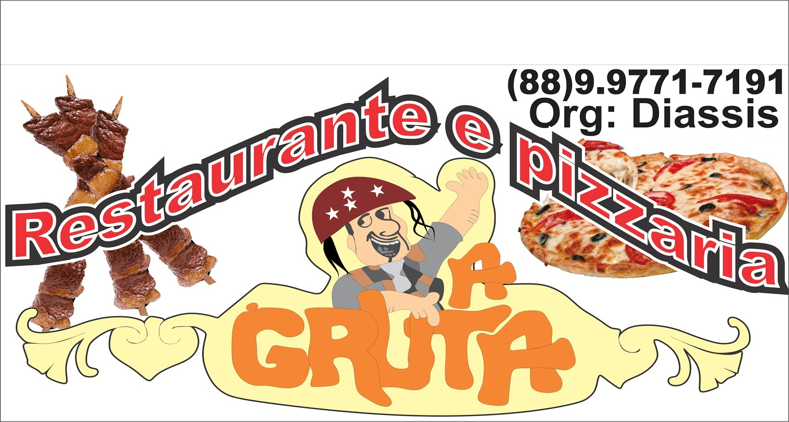 Restaurante e Pizzaria A Gruta. 88- 9.97717191