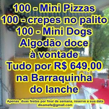 LANCHONETE LEGAL 4 PRODUTOS POR R$ 649,00