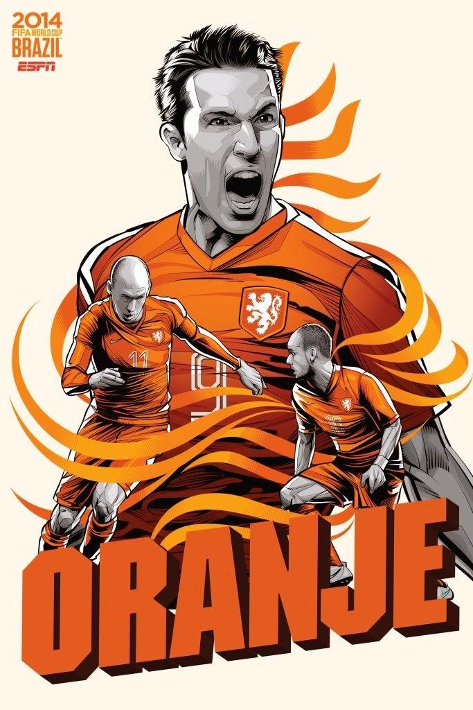 Netherlands Team FIFA 2014