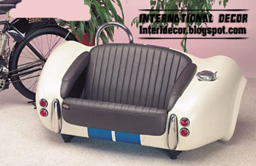 Couches Made From Car Trunk