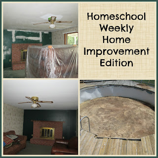 Homeschool Weekly: Home Improvement Edition on Homeschool Coffee Break @ kympossibleblog.blogspot.com